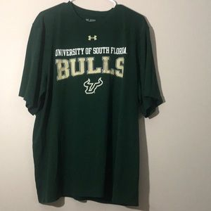 USF under armour 2x shirt